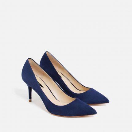 Pumps blu Zara autunno inverno 2017