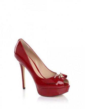 Pumps in vernice rossa Guess scarpe autunno inverno 2015