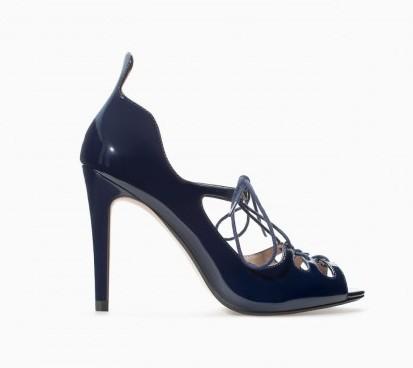 Pumps in vernice Zara scarpe autunno inverno 2015