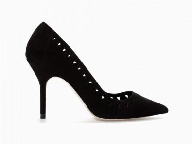 Pumps nere Zara scarpe autunno inverno 2015