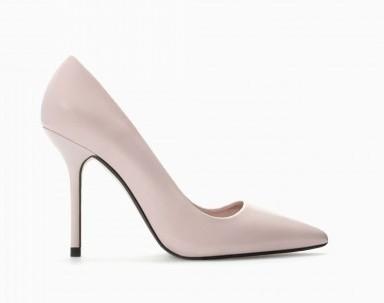 Pumps rosa Zara scarpe autunno inverno 2015