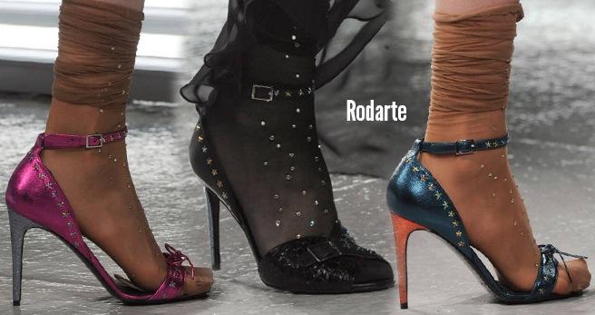 Rodarte scarpe catalogo autunno inverno 2014 2015