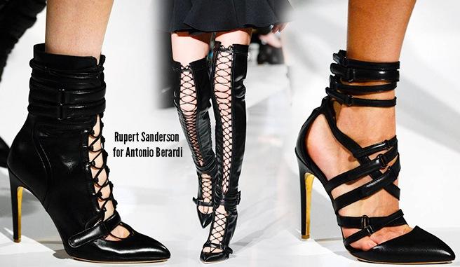 Rupert Sanderson scarpe catalogo autunno inverno 2014 2015