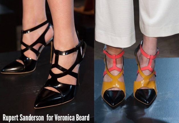 Rupert Sanderson Veronica Beard scarpe catalogo autunno inverno 2014 2015