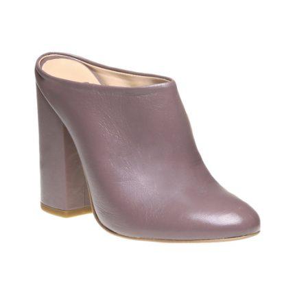 Sabot in pelle Bata scarpe autunno inverno 2015