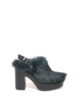 Sabot in pelliccia Janet & Janet autunno inverno 2017