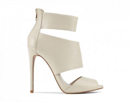 Sandali bianchi Aldo scarpe autunno inverno 2015