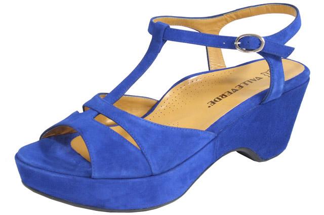 Sandali blu Valleverde primavera estate