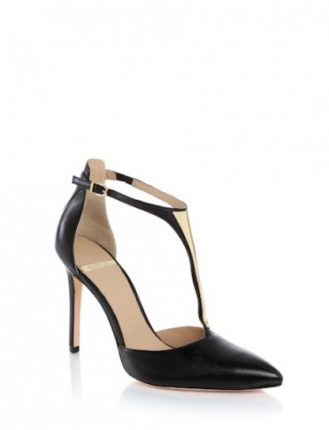 Sandali neri t-bar Guess scarpe autunno inverno 2015