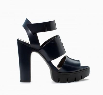 Sandali platform Zara scarpe autunno inverno 2015
