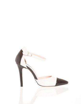 Sandalo bicolor con cinturino Pittarello scarpe autunno inverno