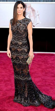 Sandra Bullock abito oscar 2013