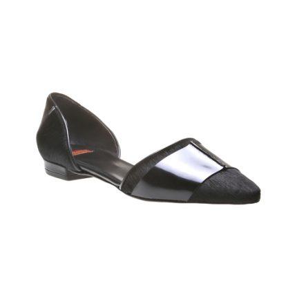 Scarpa bassa in pelle con spaccata Bata scarpe autunno inverno 2015
