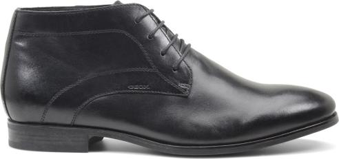 Scarpa pelle alta Geox scarpe autunno inverno