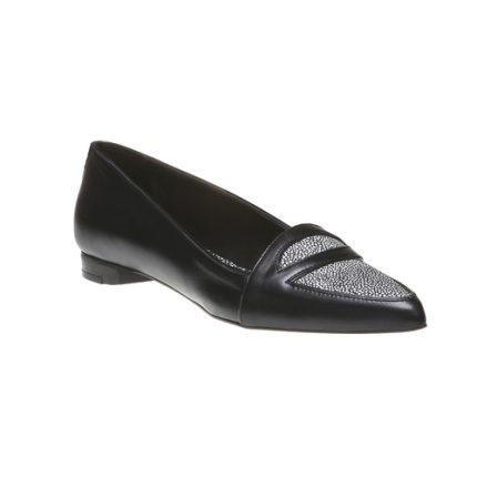 Scarpe basse in Sharkskin Bata scarpe autunno inverno 2015