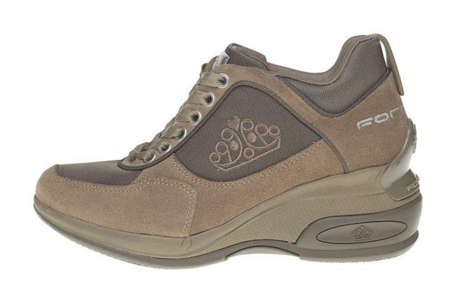 Scarpe giniche marroni Fornarina scarpe autunno inverno 2015