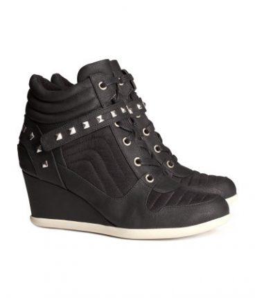Scarpe sneakers con zeppa H&M autunno inverno 2013 2014