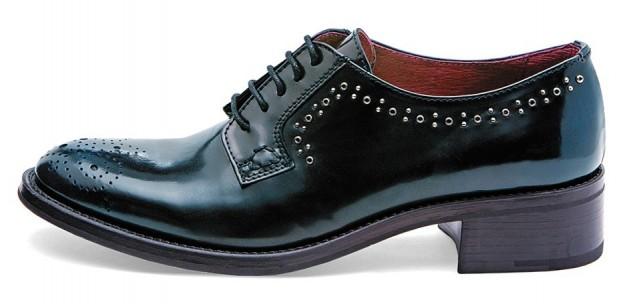Scarpe stringate blu Frau scarpe autunno inverno 2014 2015