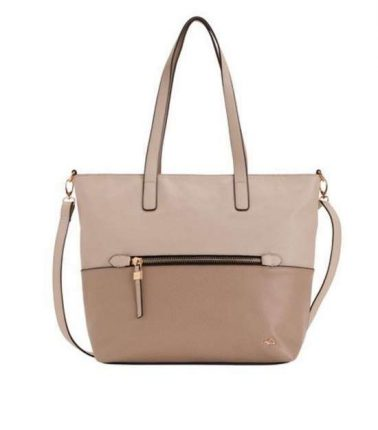 Shopper bicolor Carpisa autunno inverno 2017