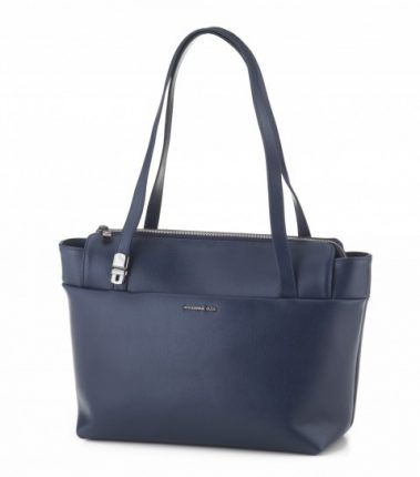 Shopper blu Mandarina Duck A I 2015 2016