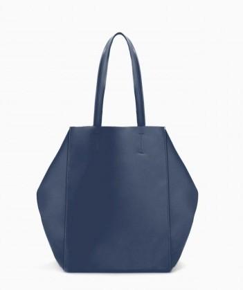 Shopper blu Zara borse autunno inverno 2015