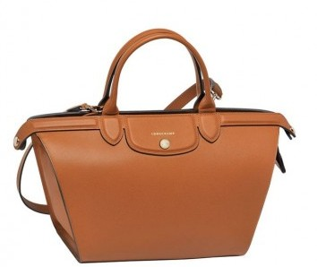 Shopper caramello Longchamp