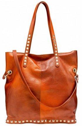 Shopper con borchie Caleidos