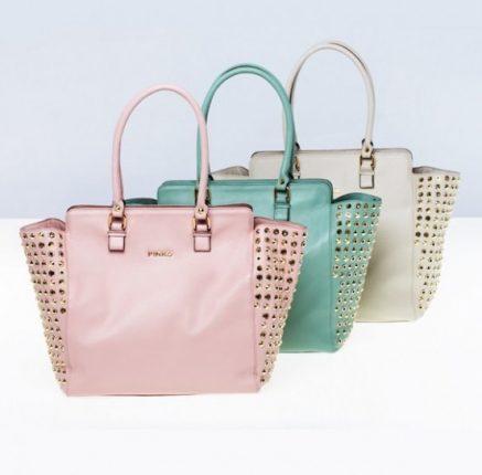 Shopper con borchie Pinko primavera estate 2013