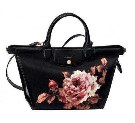 Shopper con stampa Longchamp
