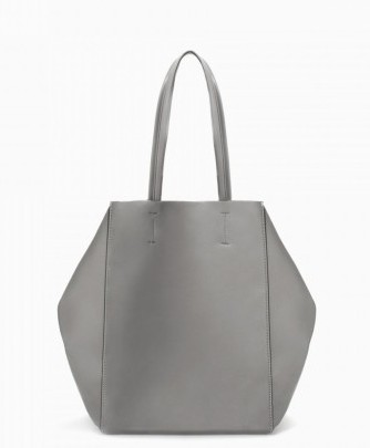 Shopper grigia Zara borse autunno inverno 2015