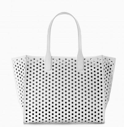 Shopper laser cut Zara borse autunno inverno 2015