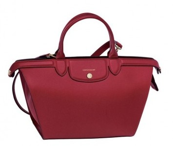 Shopper Longchamp rossa
