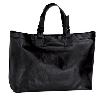 Shopper nera Longchamp