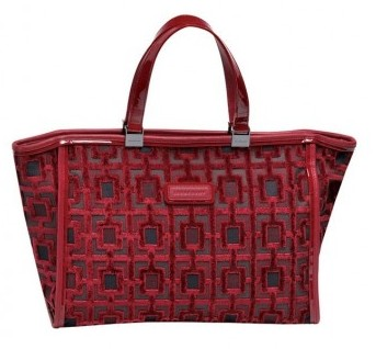 Shopper rossa Longchamp