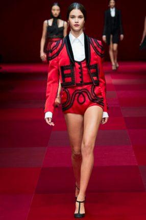 Shorts Dolce & Gabbana primavera estate 2015