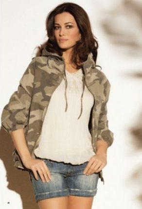 Shorts e giacca camouflage