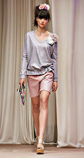 Shorts Twin Set jeans primavera estate 2016