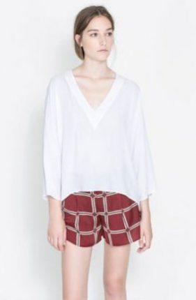 Shorts Zara primavera estate 2014