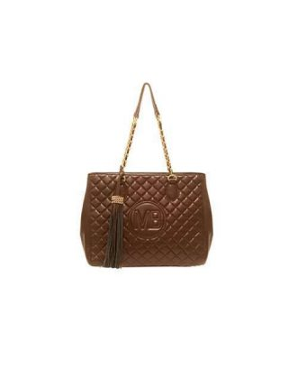 Shoulder bag marrone trapuntata