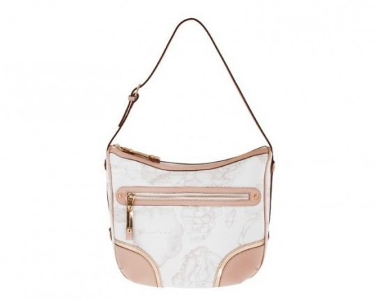Shoulder bag media in geo white Alviero Martini 1a classe
