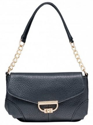 Shoulder bag nera Caleidos