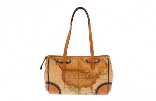 Shoulder bag piccola in geo classic Alviero Martini 1a classe