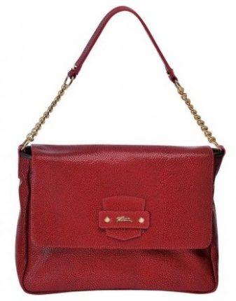 Shoulder bag rossa Longchamp