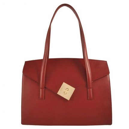 Shoulder bag rosso scuro Tosca Blu autunno inverno 2017