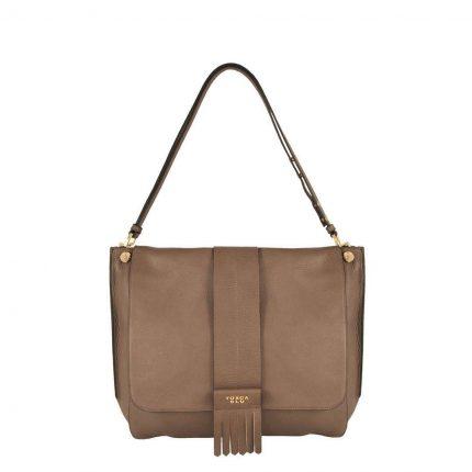 Shoulder bag Tosca Blu autunno inverno 2017 marrone