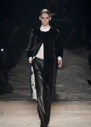Simonetta Ravizza collezione autunno inverno 2013 2014 pantaloni in pelle