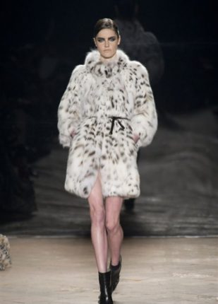 Simonetta Ravizza collezione autunno inverno 2013 2014 pelliccia