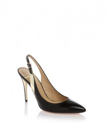 Slingback oro e nero Guess scarpe autunno inverno 2015