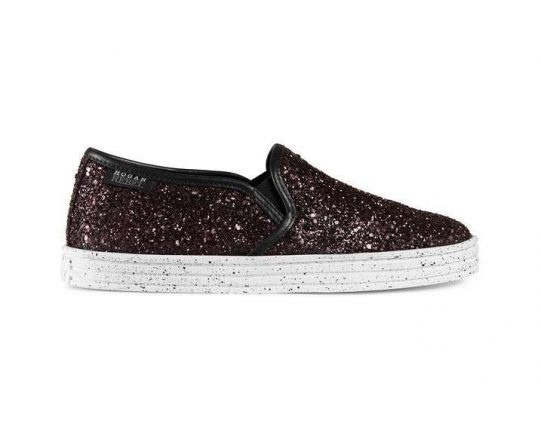 Slip on glitter Hogan autunno inverno 2017