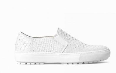 Slip on in rettile Zara scarpe autunno inverno 2015